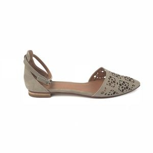 Caslon Taupe Flats